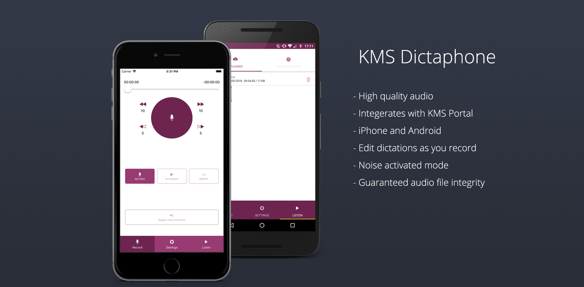 KMS APP-preview