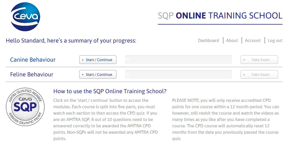 CEVA SQP Online Training School-preview