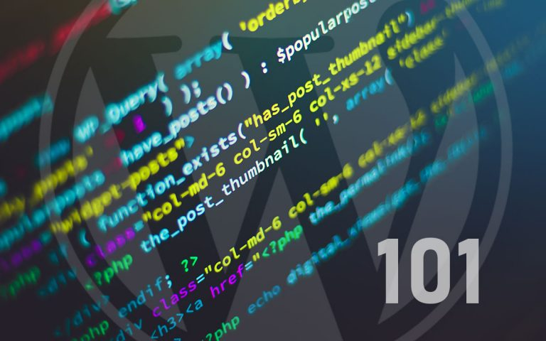 WordPress 101 Developer Tips
